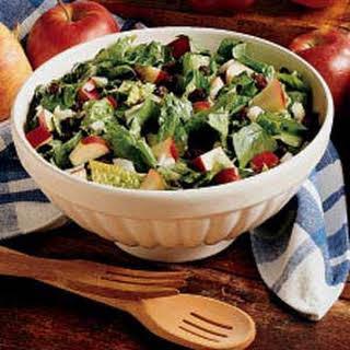Spinach Apple Salad.