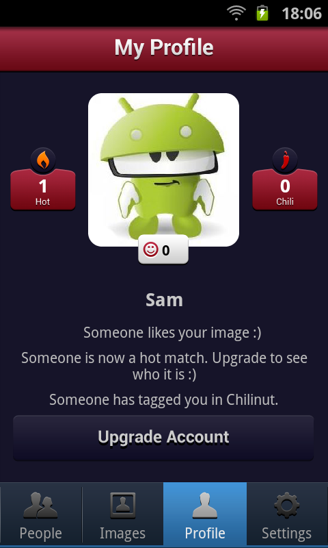 Chilinut - screenshot