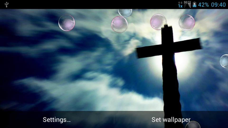 Jesus Cross Live Wallpaper Screenshots