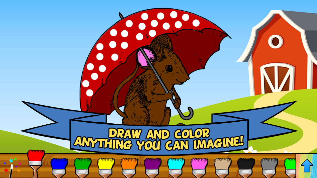 Coloring Book Fun- screenshot