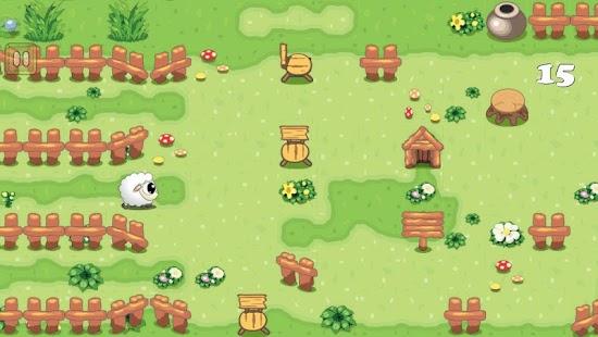 Sheepo Run - Lead Sheep Away screenshot