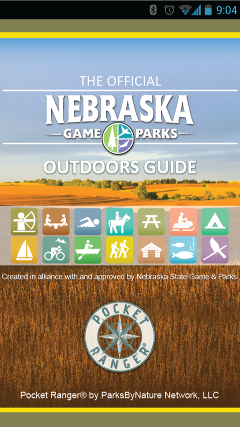 NE State Parks Guide - screenshot