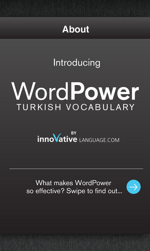 Learn Turkish Free WordPower- screenshot
