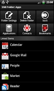 SiMi Folder Widget - screenshot thumbnail