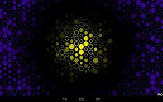 Screenshot of Light Grid Pro Live Wallpaper