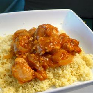 Chicken Tagine with Couscous.