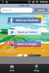 Hello Goa- screenshot thumbnail