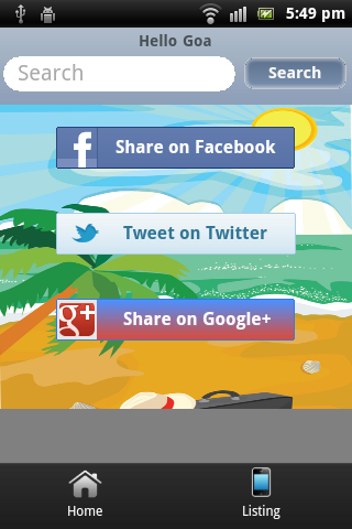 Hello Goa- screenshot