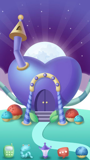 Magic Planet GO Launcher Theme