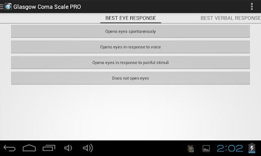 Glasgow Coma Scale - screenshot thumbnail