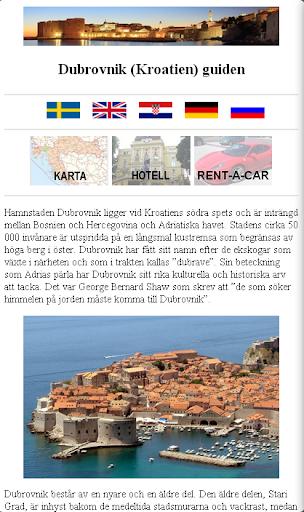 Dubrovnik Kroatien guide
