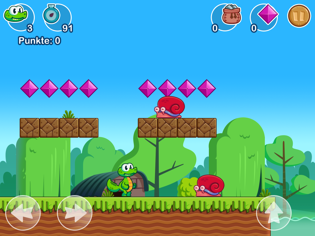 Croc's World- screenshot