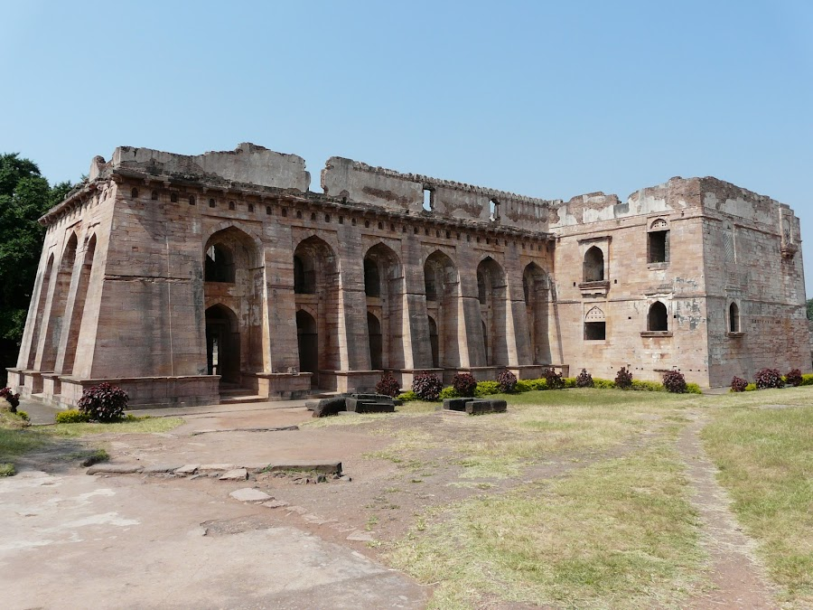 Castle at Indore; India by Thakkar Mj - Buildings & Architecture Public & Historical ( history, monument, indore, india, castle,  )