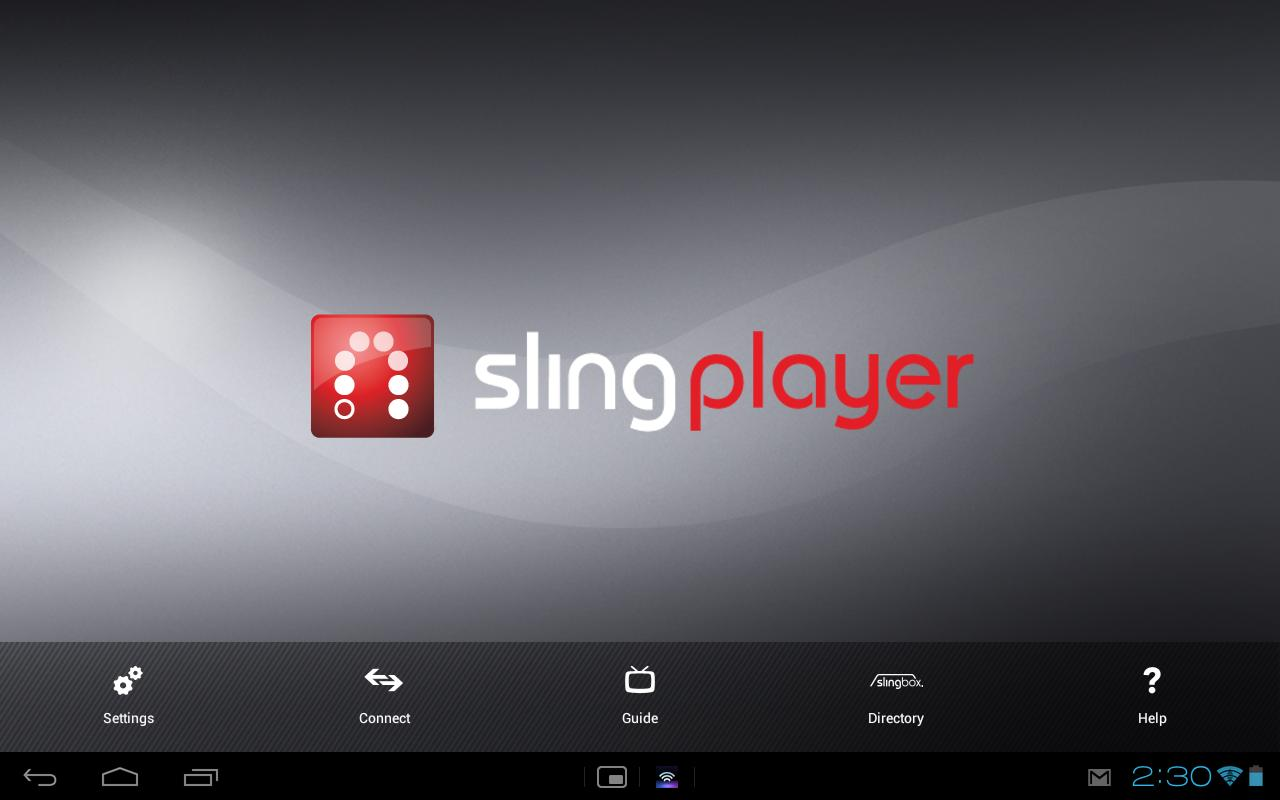 Slingplayer for Tablets- screenshot