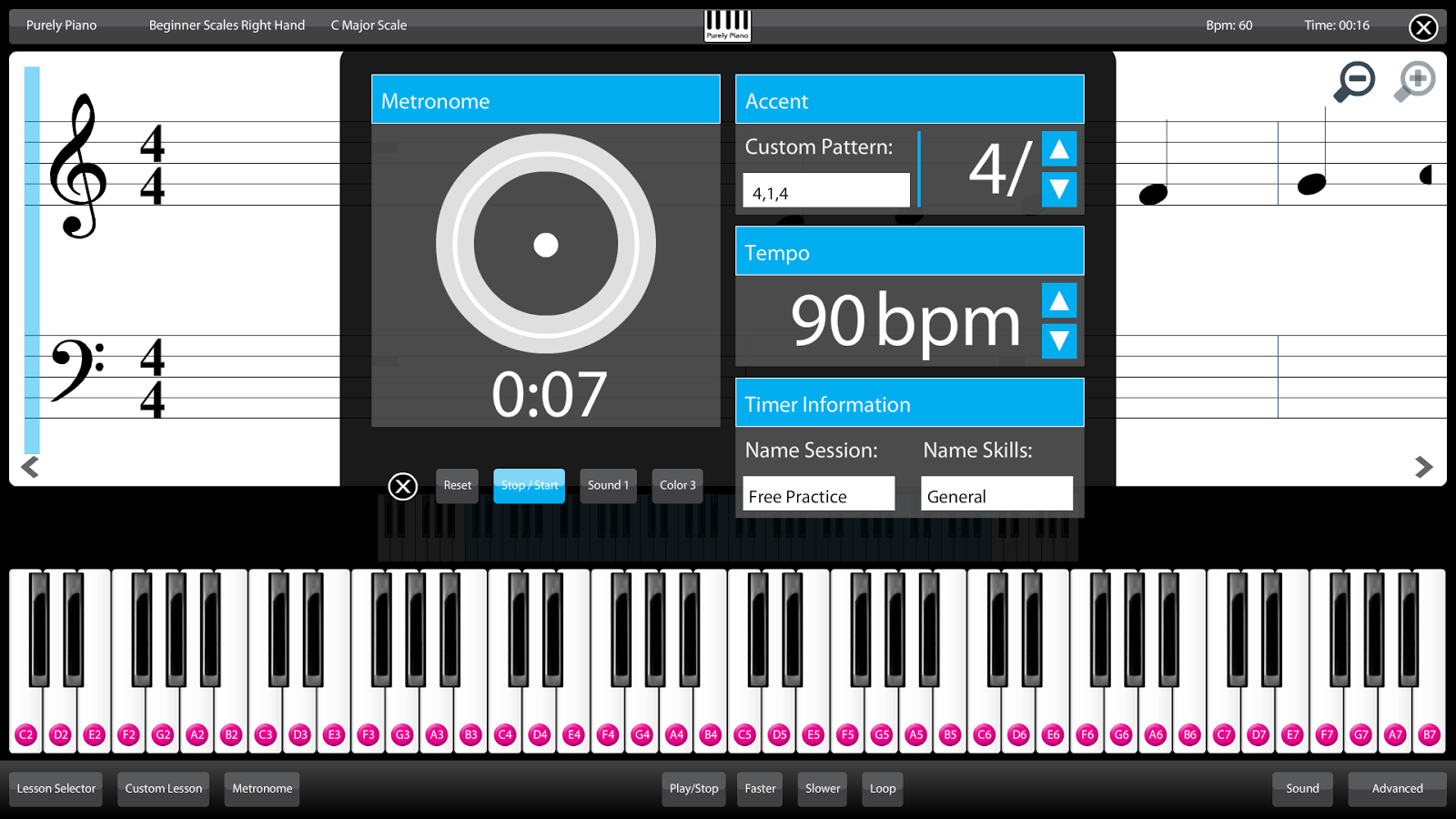 Piano Learn Lessons Free Guide - Android Apps on Google Play