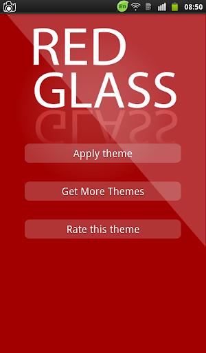 Red Glass Keyboard