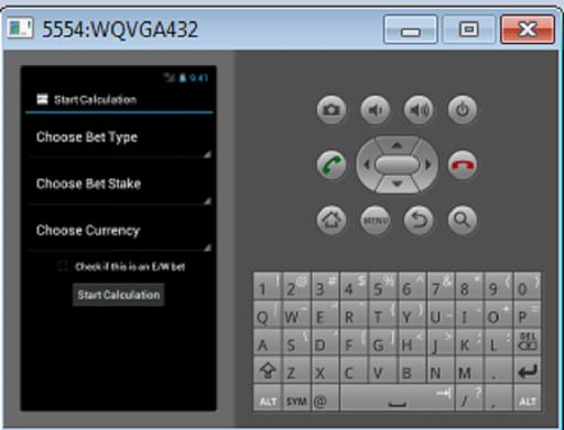 SP betting calculator