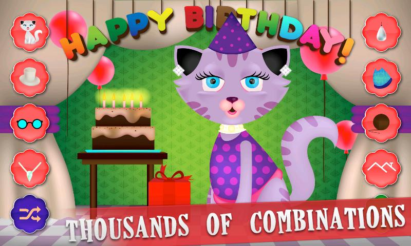 Kitty Dress Up - screenshot