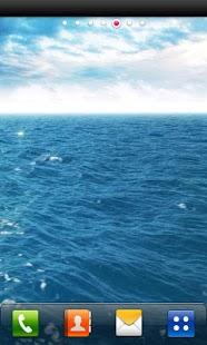 ヒーリング・ライブ壁紙 海の癒し