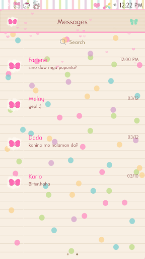 Love Note GO SMS