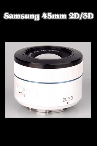 NX 45mm F1.8 2D 3D Tutorial