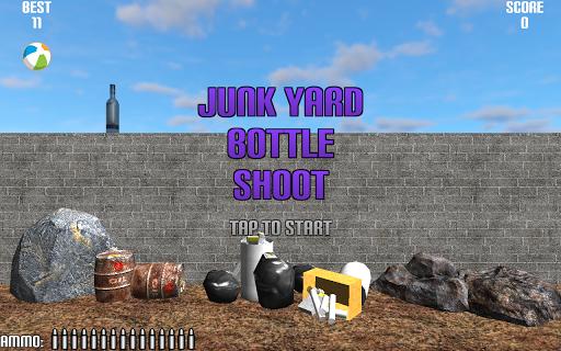 Junk Yard Bottle Shoot
