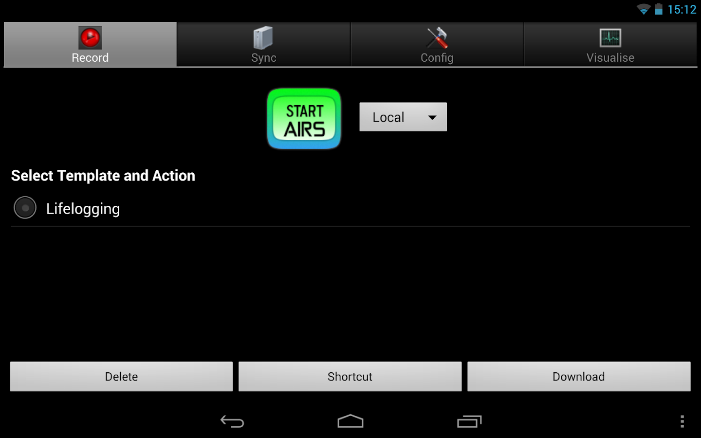 AIRS - Record your life- screenshot