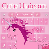 Cute Unicorn Keyboard
