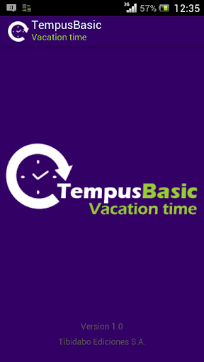 TempusBasic: Vacation Time