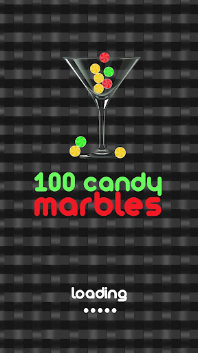 100 candy marbles