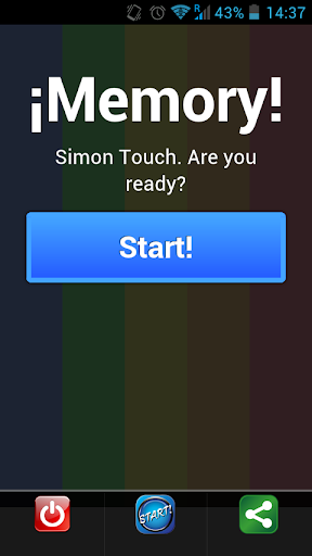 ¡Memory Offline Touch Simon