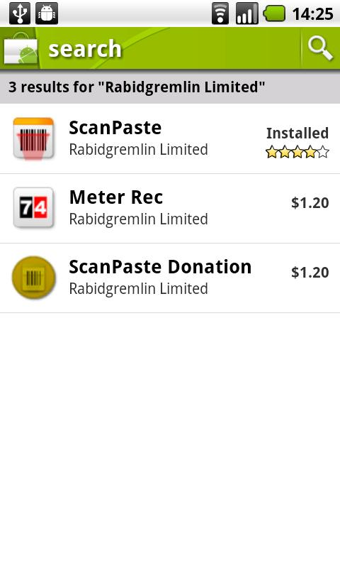 ScanPaste Donation - screenshot
