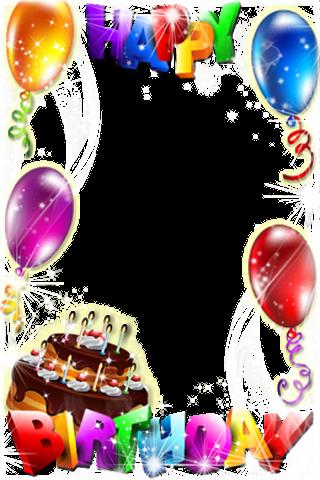 Molduras de aniversário - screenshot