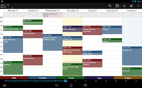 Business Calendar Pro Screenshot 10