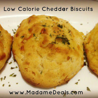 Low Calorie Cheddar Biscuits