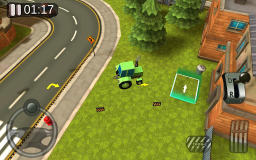 3D駐車場シムゲーム