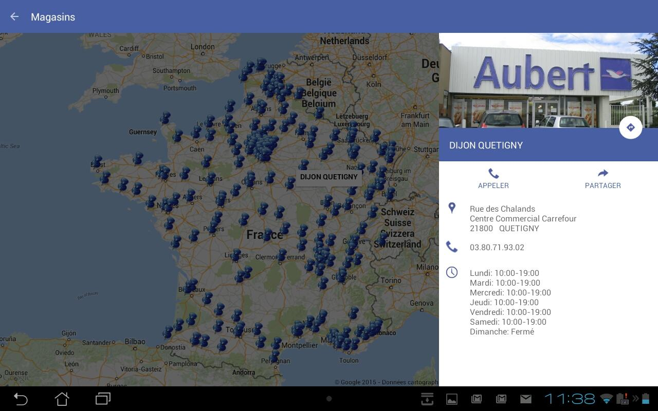 Aubert- screenshot