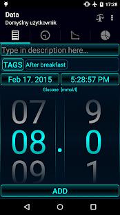 Diabetes - Glucose Diary- screenshot thumbnail