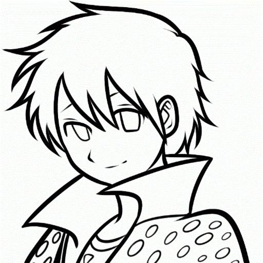 how to draw a runaway boy in cartoon