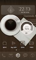 Screenshot of Guatemala Antigua 카카오홈 테마