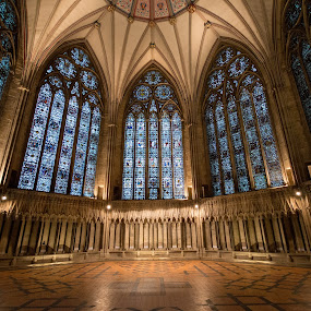 York Minster Chapter House Interior by Simon Sweetman - Buildings & Architecture Other Interior ( interior, minster, chapter, york, house,  )