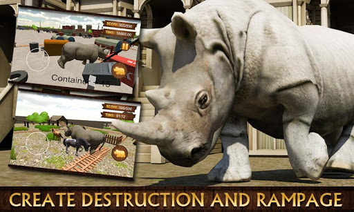 Rhino Simulator 3D Game