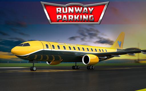 跑道停車場 - 3D飛機遊戲