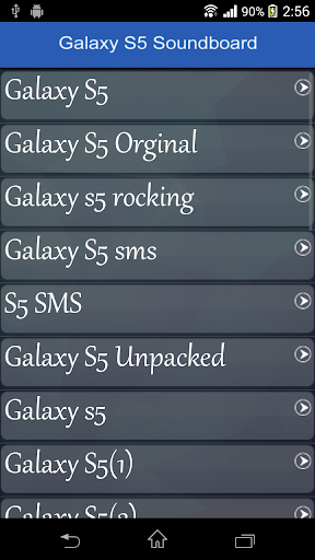 【免費娛樂App】Galaxy S5 Soundboard-APP點子