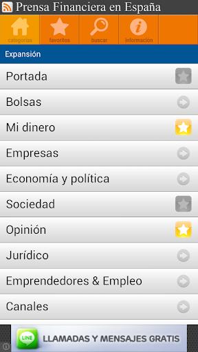 Prensa Financiera España