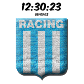 Racing Club Avellaneda Clock