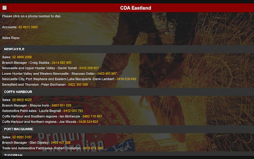 CDA Eastland Trade Supplies- screenshot thumbnail