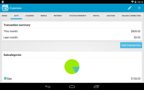 ViZi Budget - screenshot thumbnail