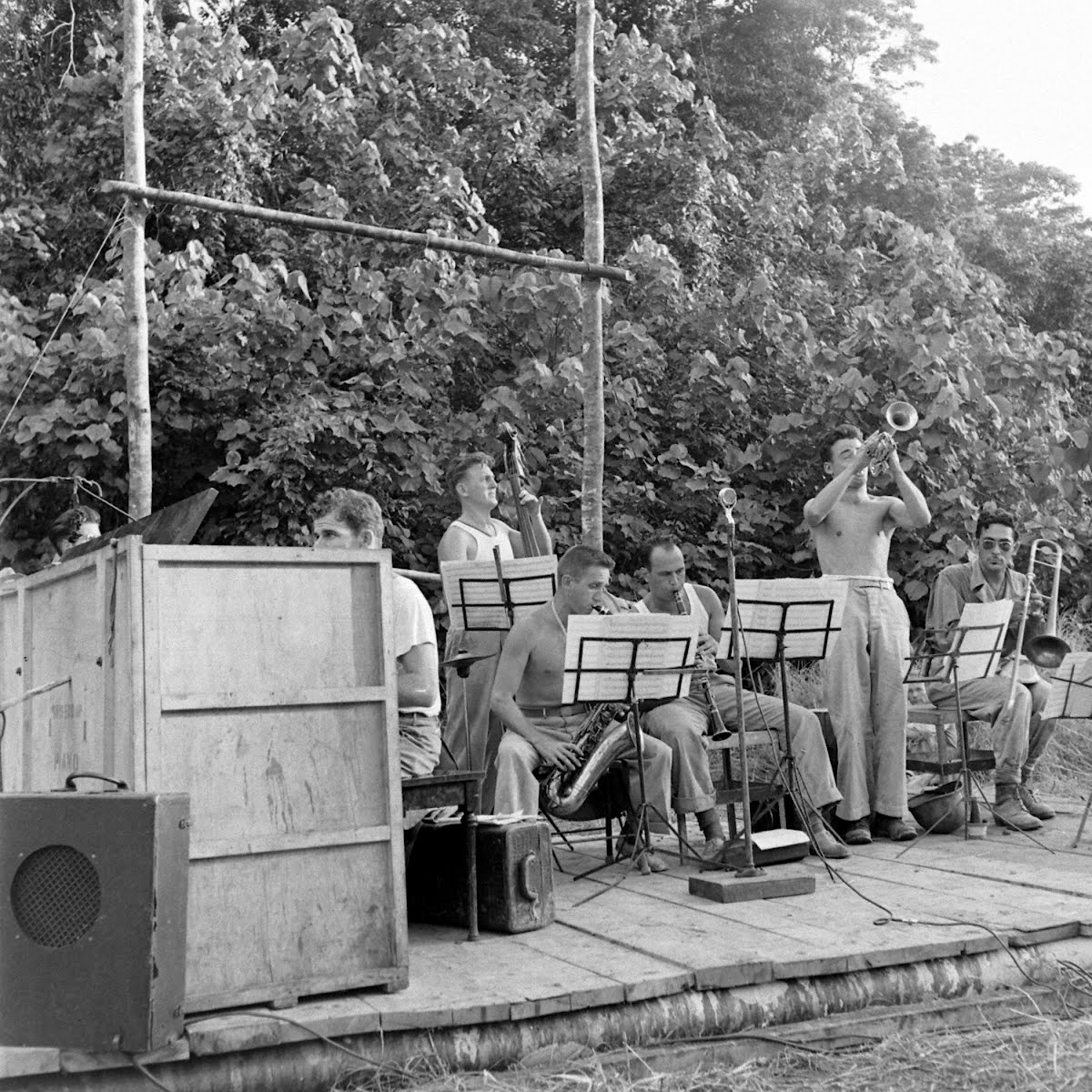 Musical Band On Guadalcanal