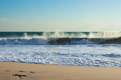 Morning waves in Fort Lauderdale, Florida.